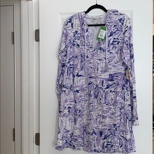 Lilly Pulitzer hooded dress